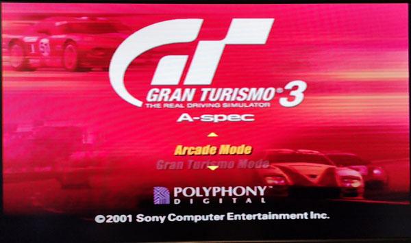 GT3 HDMI タイトル