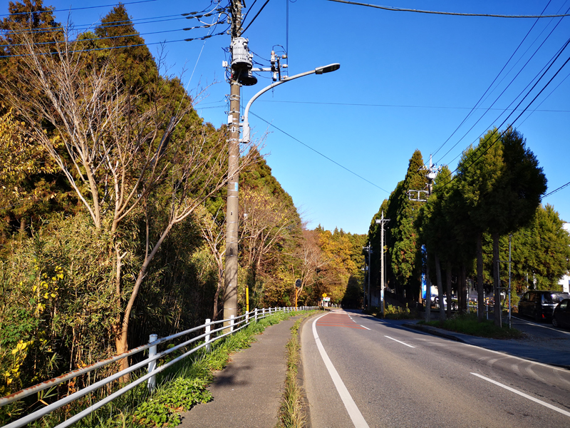 泉自然公園までの道02