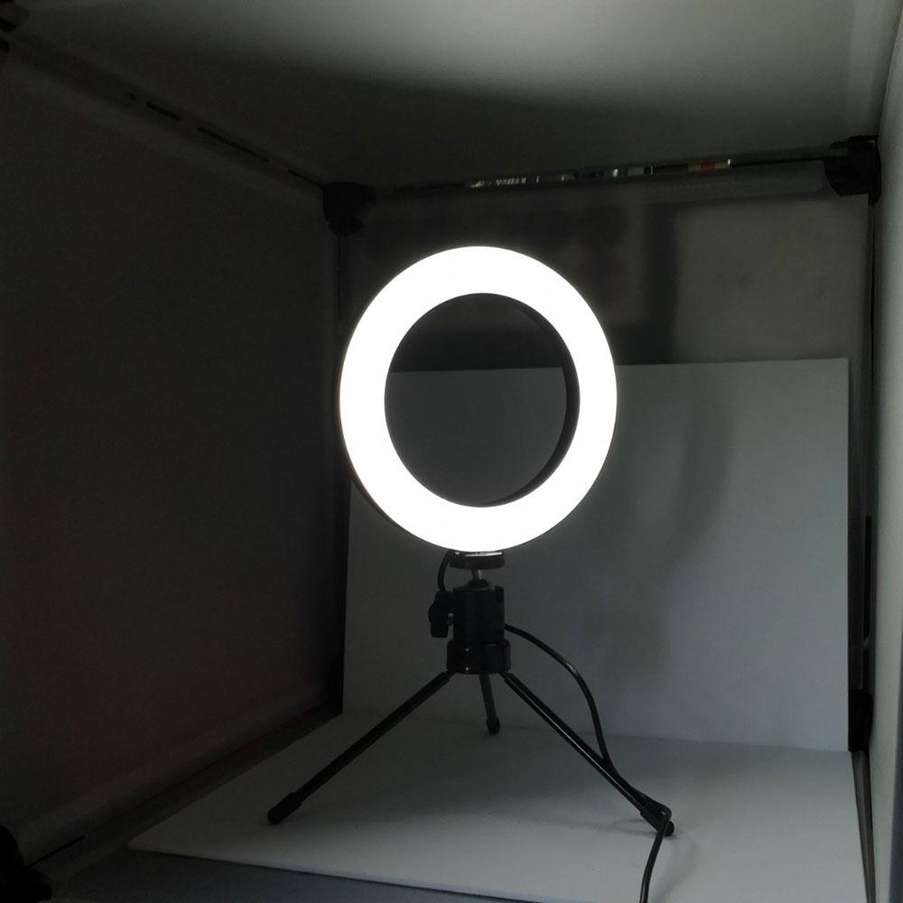 リングライト 最小 光量