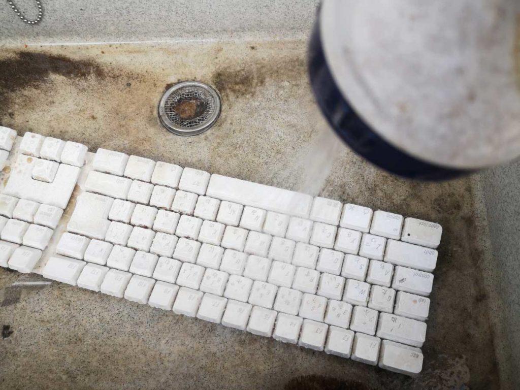 Keyboard 清掃