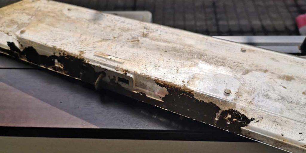 アップル Keyboard 汚れ