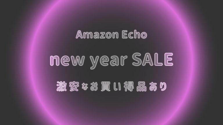 Echo エコー アレクサ セール 安売り 初売り