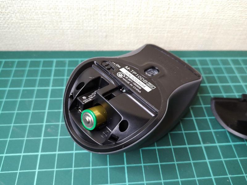 TIPSAIR M-TP10DB 電池 バランス