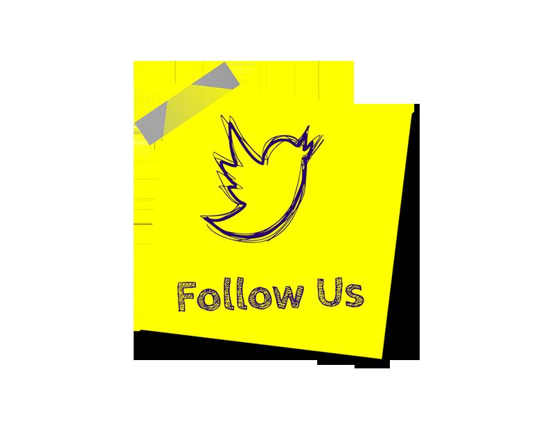 twitter SNS follow