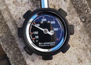 リトルカブ 空気圧 フロント 調整後